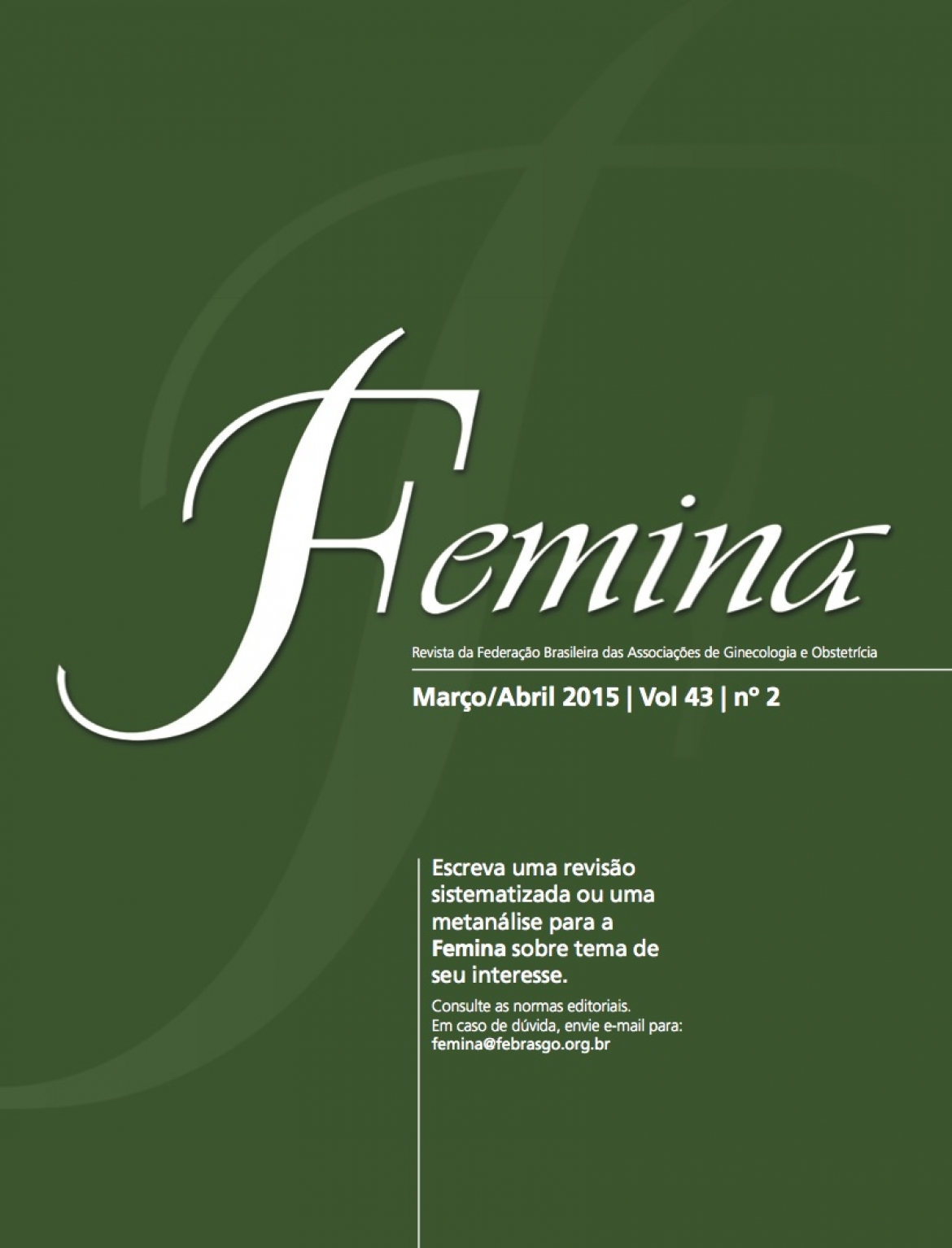Revista Femina – 2015 | vol 43 | nº 2