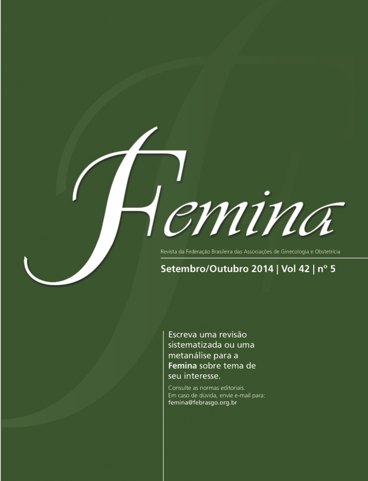 Revista Femina – 2014 | vol 42 | nº 5
