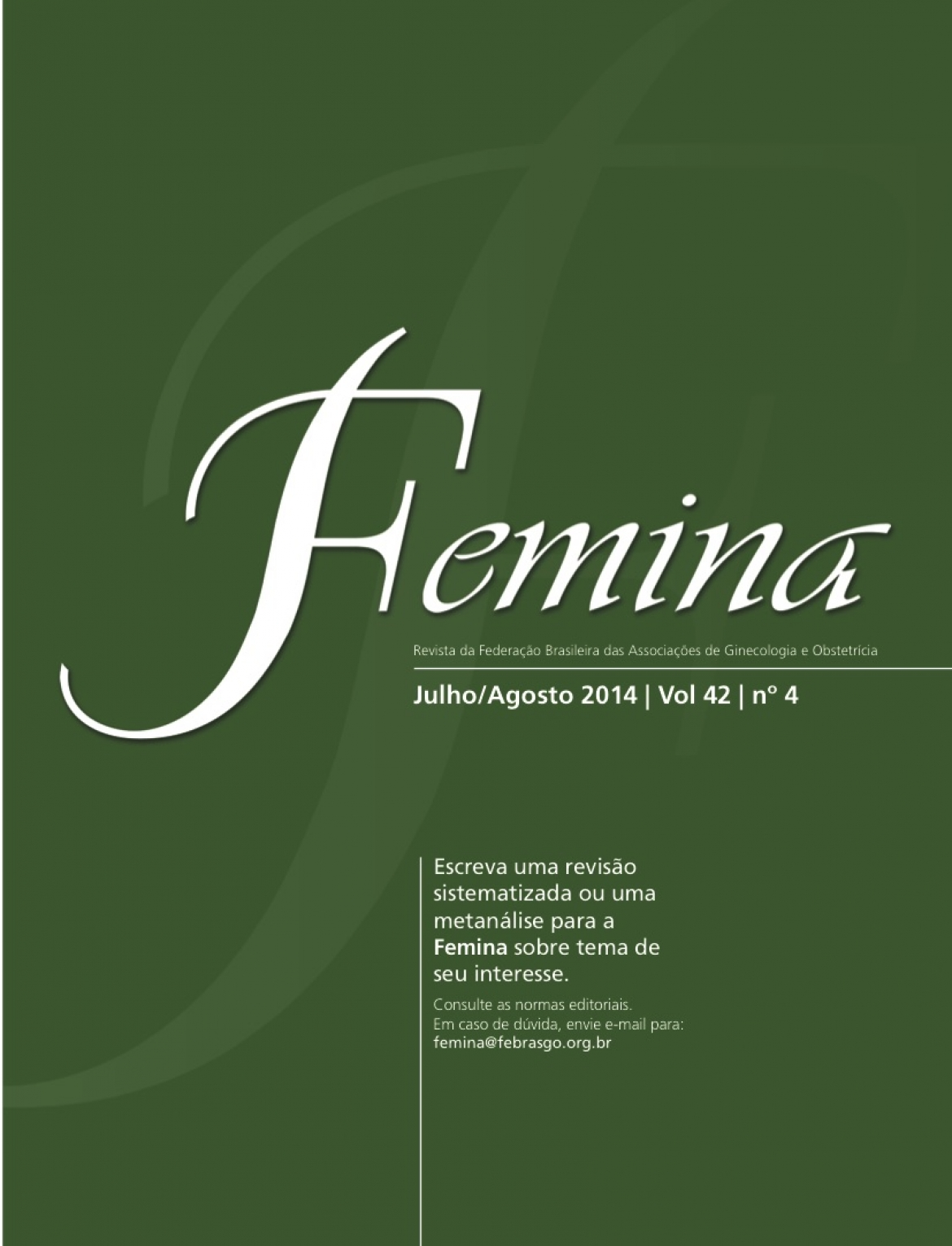 Revista Femina – 2014 | vol 42 | nº 4